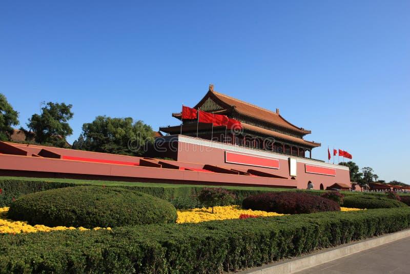 Pékin tiananmen images libres de droits