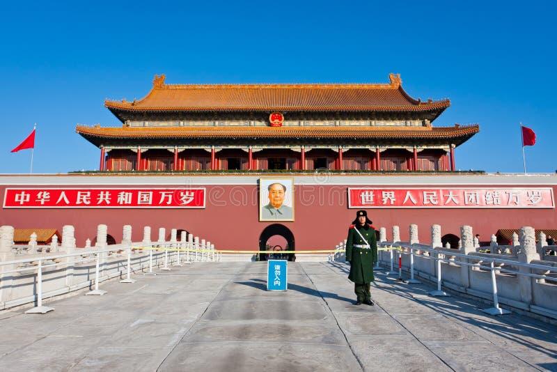 Pékin Tiananmen photos libres de droits