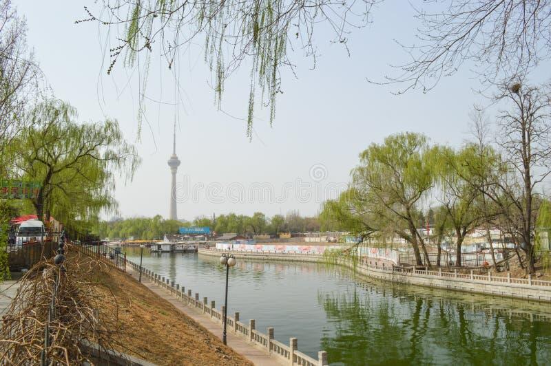 Pékin Yu Yuan Tan Park photographie stock