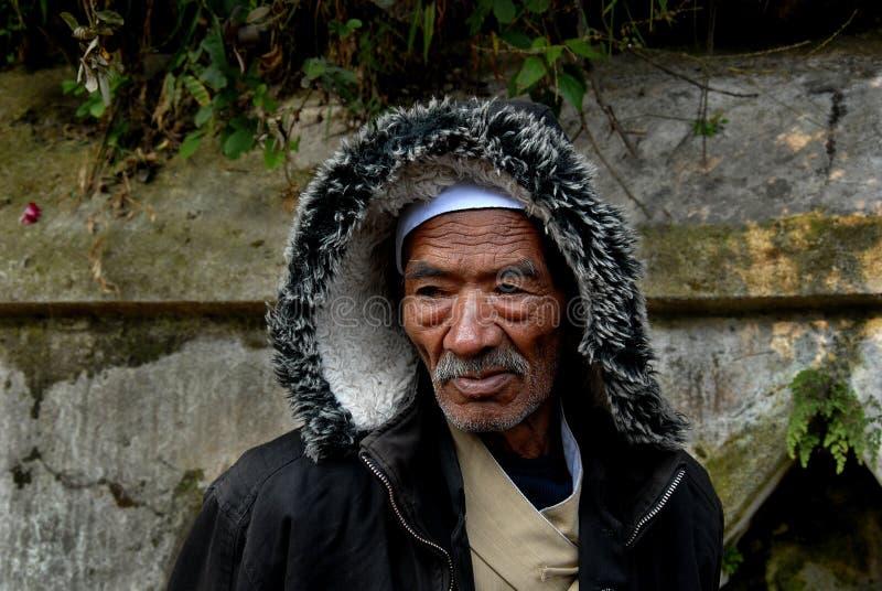 Pélerinage du Népal photographie stock