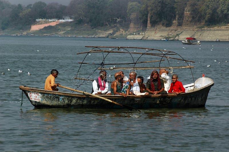 Pélerinage en Inde image libre de droits