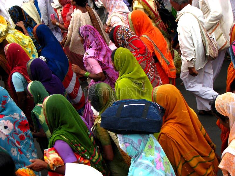 Pélerins colorés photos libres de droits