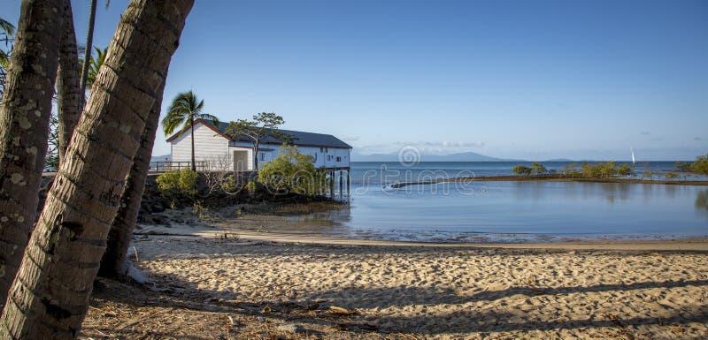 Péniche Port Douglas images libres de droits