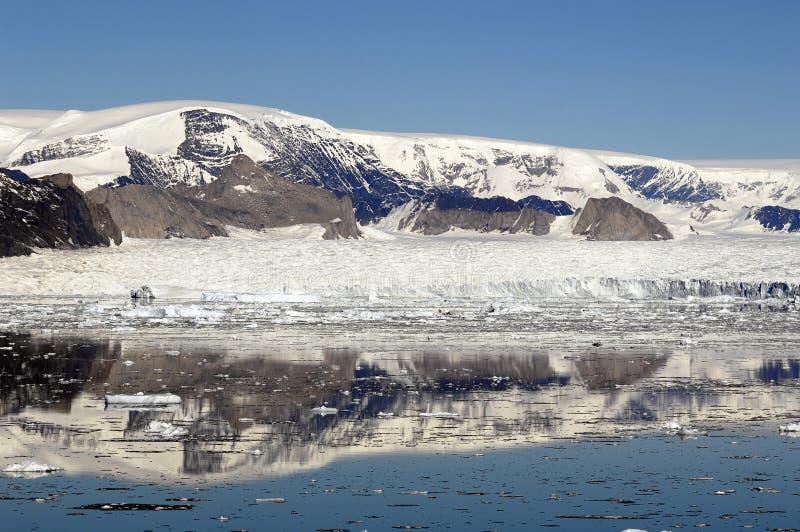 Péninsule antarctique près de Larsen A image stock