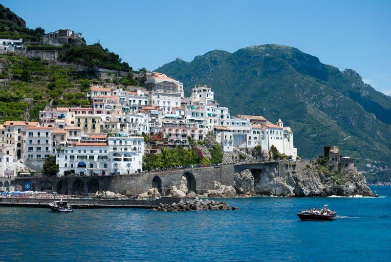 Péninsule de côte d'Amalfi photo stock