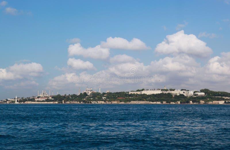Péninsule historique à Istanbul, Turquie photo stock