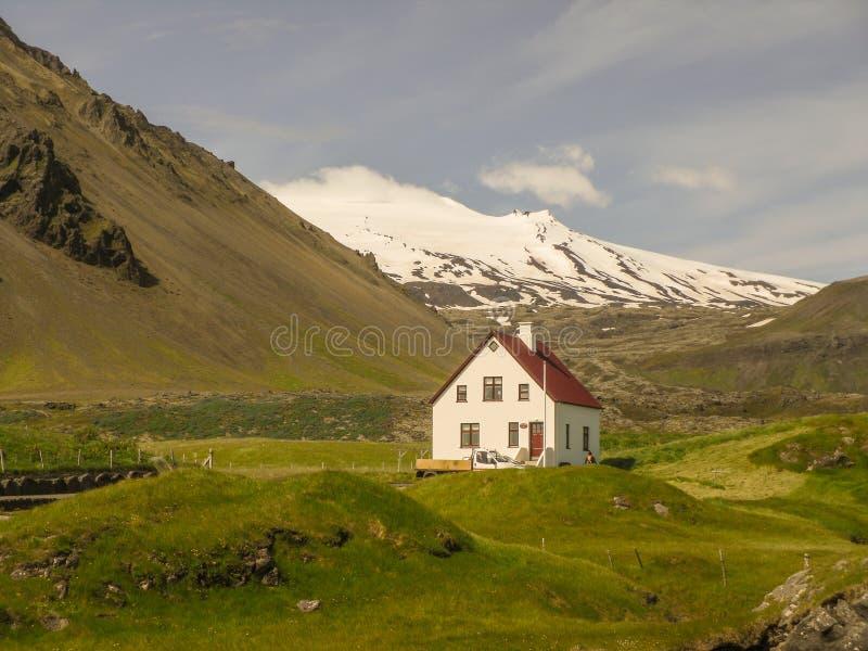Péninsule occidentale de l'Islande photo libre de droits