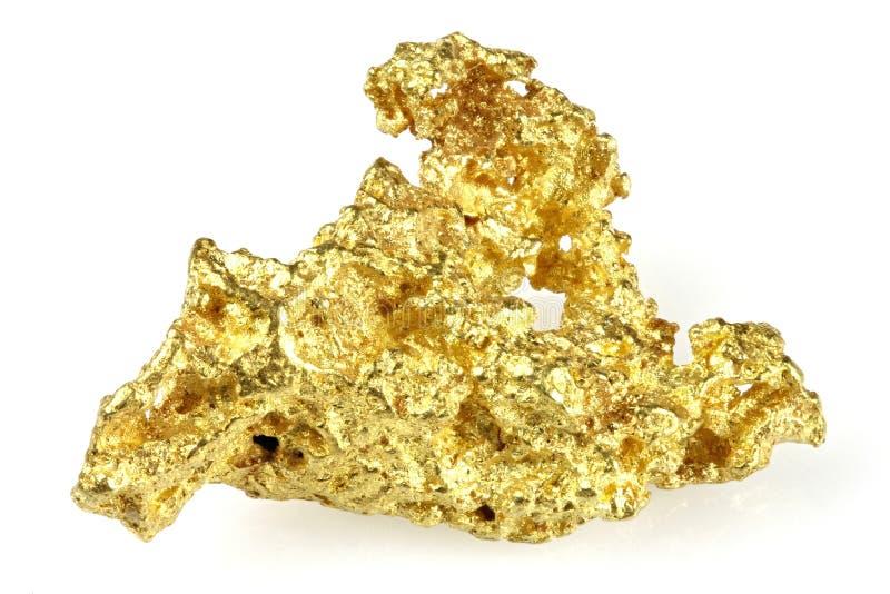 Pépite d'or image libre de droits