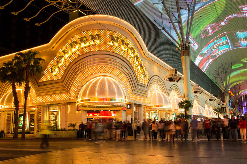 Pépite d'or Vegas photos libres de droits