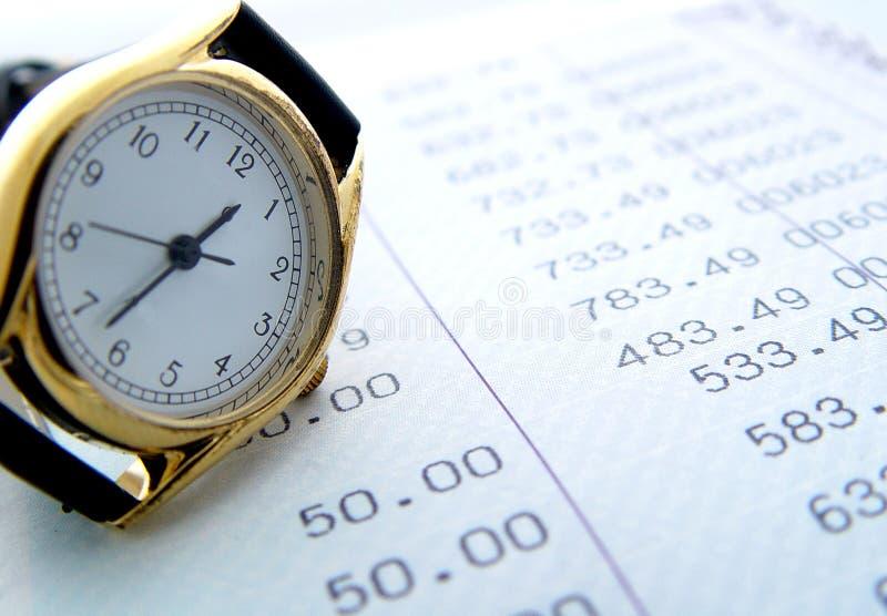 Périodes financières photos stock