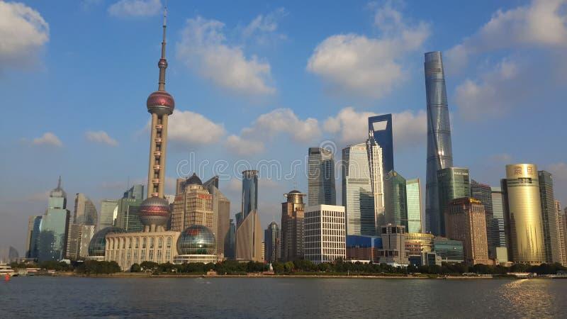 Pérola de Shanghai Pudong Dongfang fotos de stock