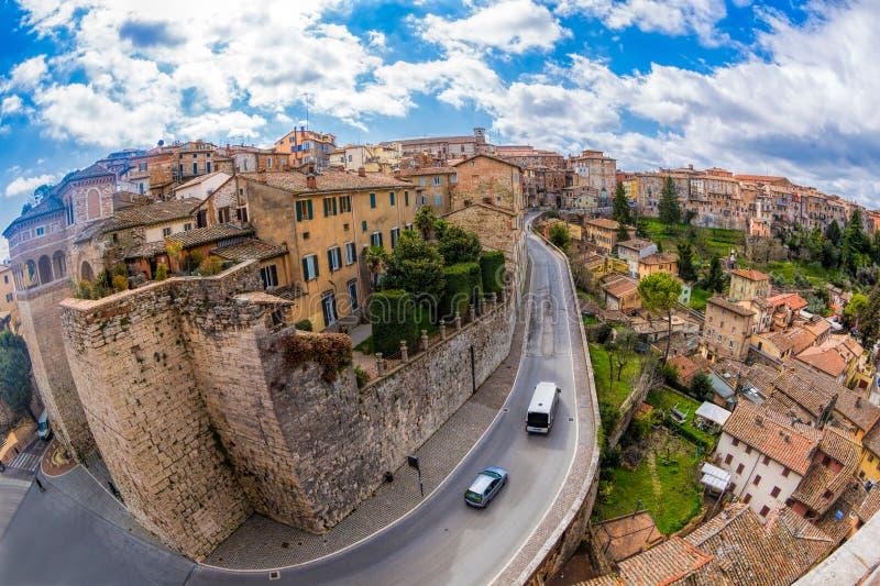Pérouse Italie l'Europe photographie stock libre de droits