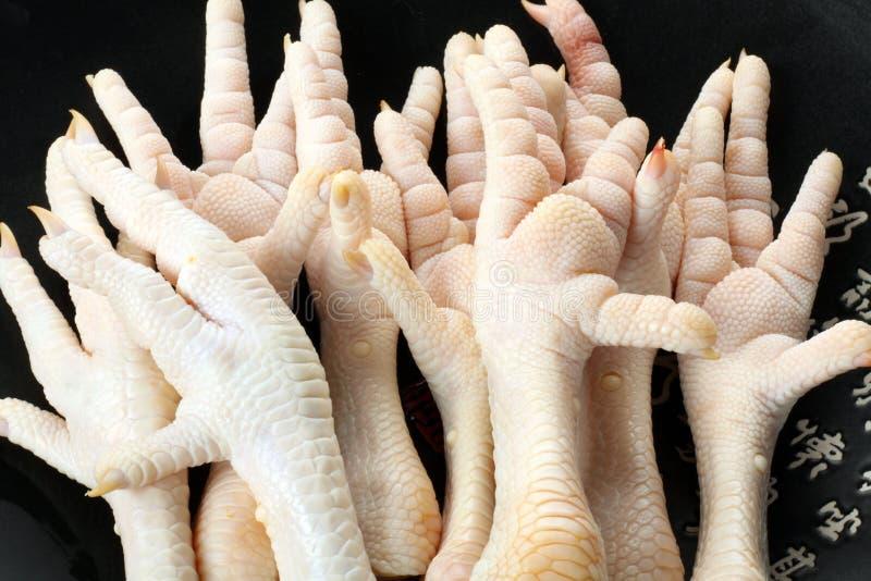 Pés da galinha imagens de stock