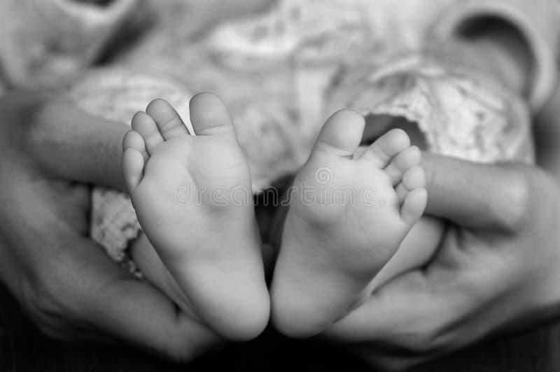 Pés do bebé foto de stock royalty free