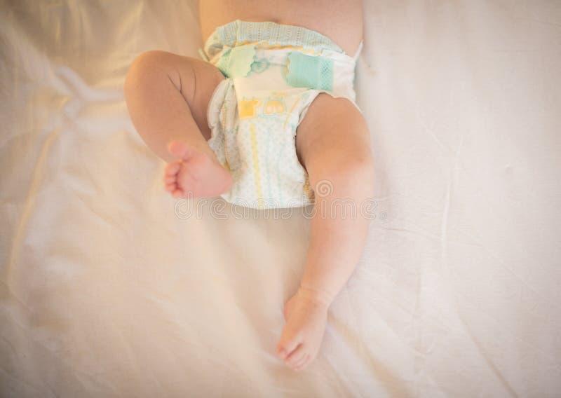 Pés do `s do bebê imagem de stock royalty free
