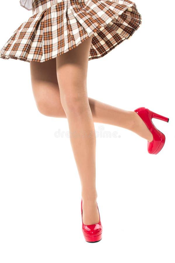 Download A menina apressa-se acima foto de stock. Imagem de glamour - 29829310