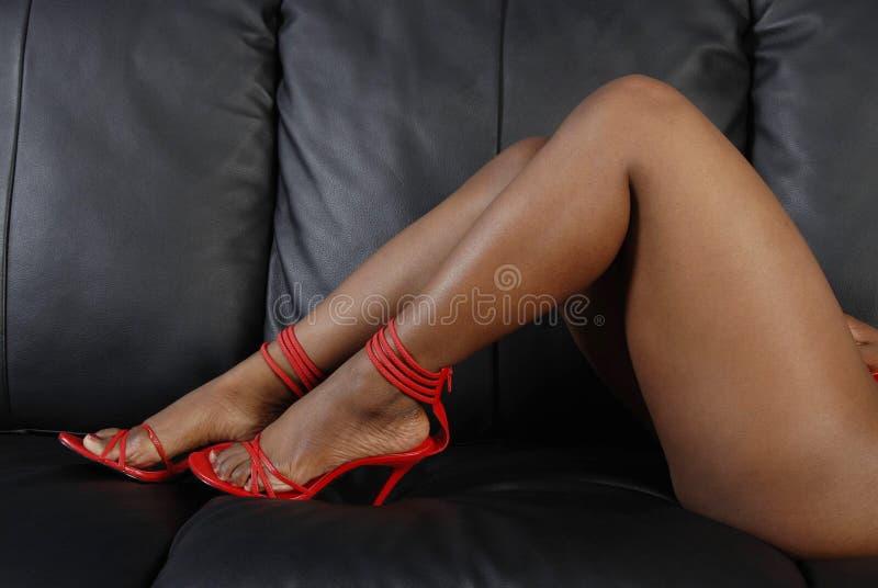 Pés 'sexy' imagens de stock royalty free