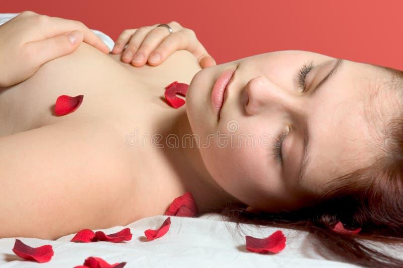Download Pétalas de Rosa foto de stock. Imagem de romântico, fêmea - 537244