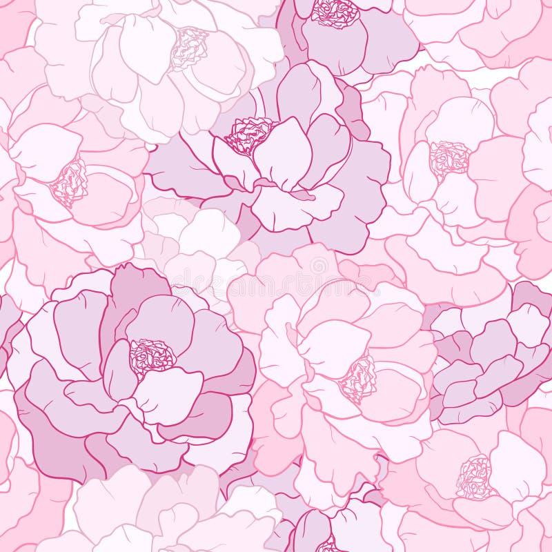 Pétalo de la flor stock de ilustración