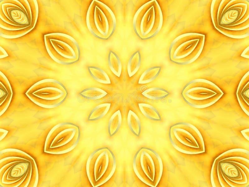 Pétalos de color claro de la textura ilustración del vector