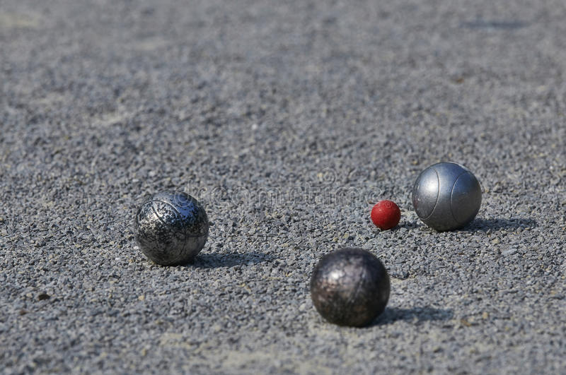 Download Pétanque / Boule / Boccia stock photo. Image of bowl - 40805548
