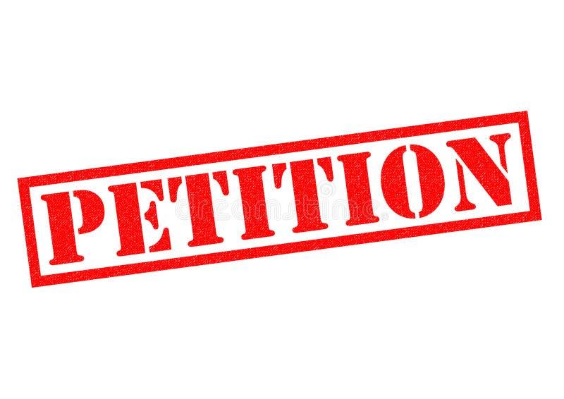 pétition illustration de vecteur