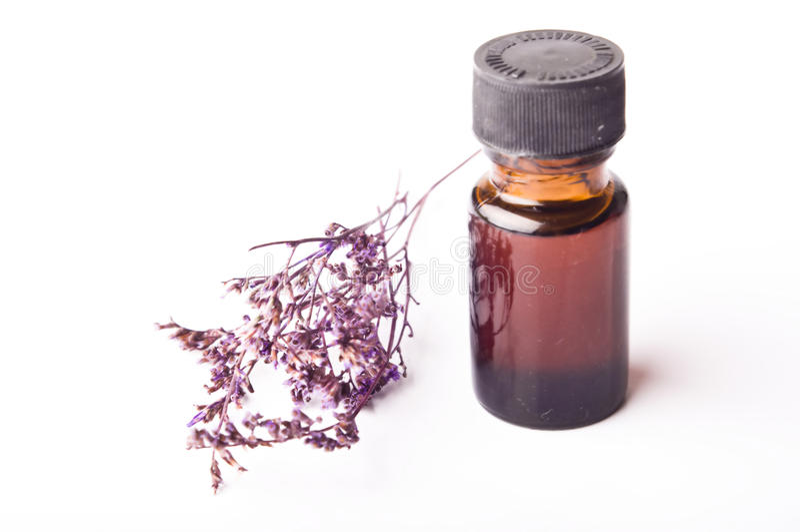 Pétrole d'Aromatherapy image stock