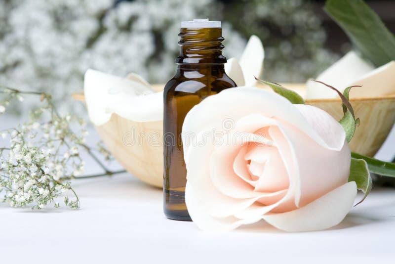 Pétrole d'Aromatherapy photo stock