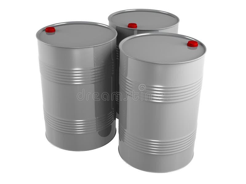 pétrole de barils illustration de vecteur