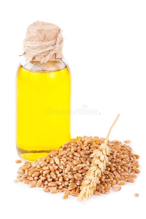 Pétrole de germe de blé photo libre de droits