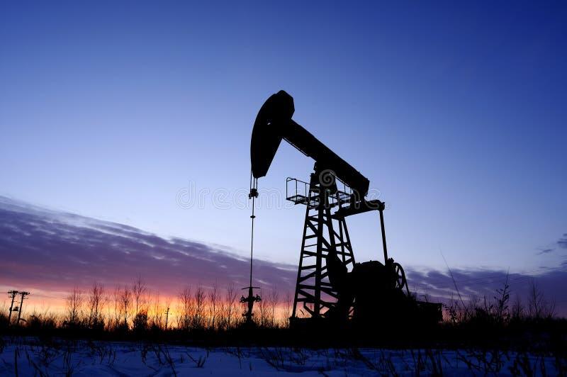 Pétrole et gaz photographie stock libre de droits