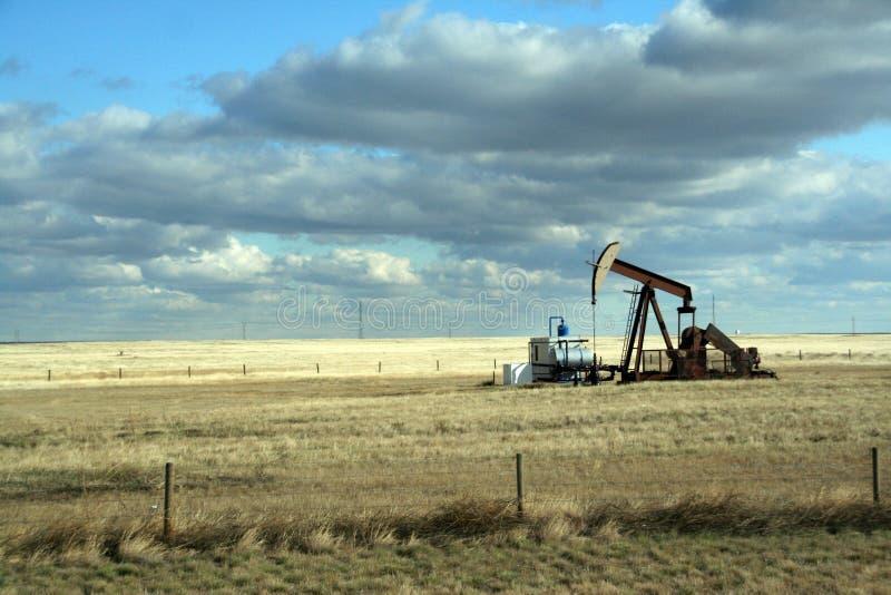 Pétrole puits, photographie stock libre de droits
