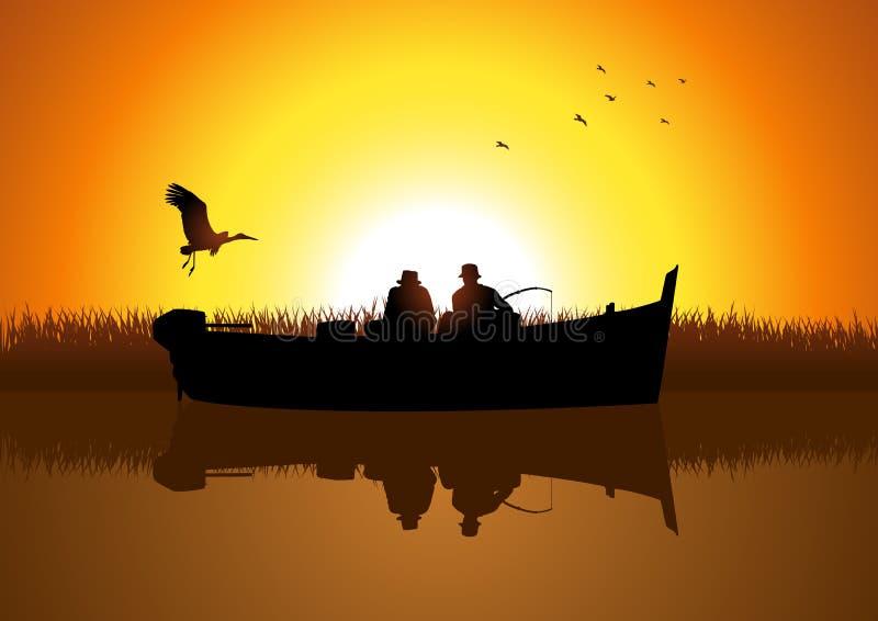 Pêche illustration de vecteur