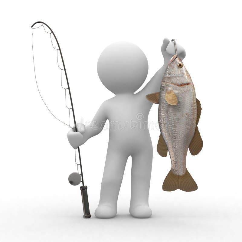 Pêche illustration libre de droits