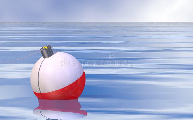 Pêche calme illustration stock