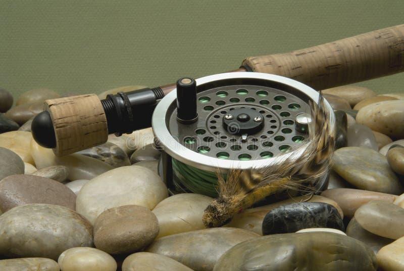 Pêche de mouche image stock