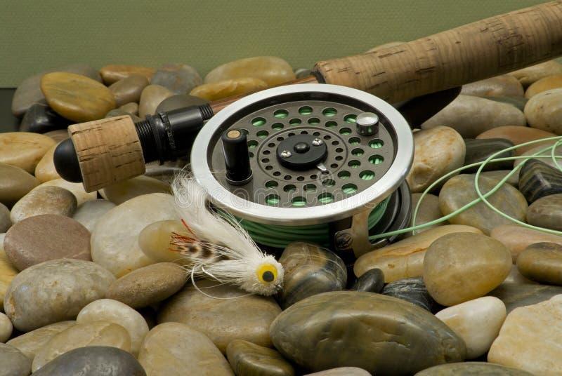 Pêche de mouche photos libres de droits