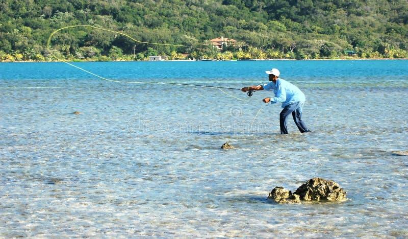 Pêche de mouche photos stock