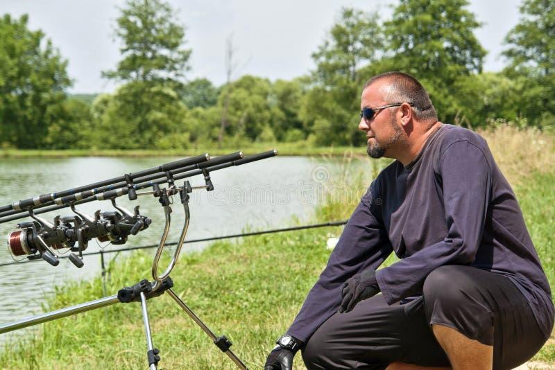 Pêche de sport images libres de droits