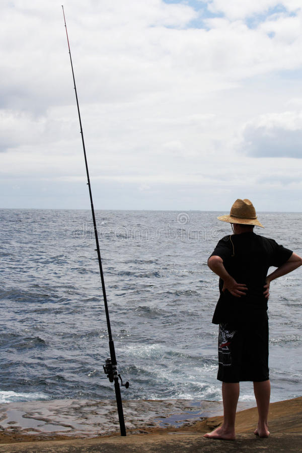 Pêche @ de Terrigal, Australie image stock
