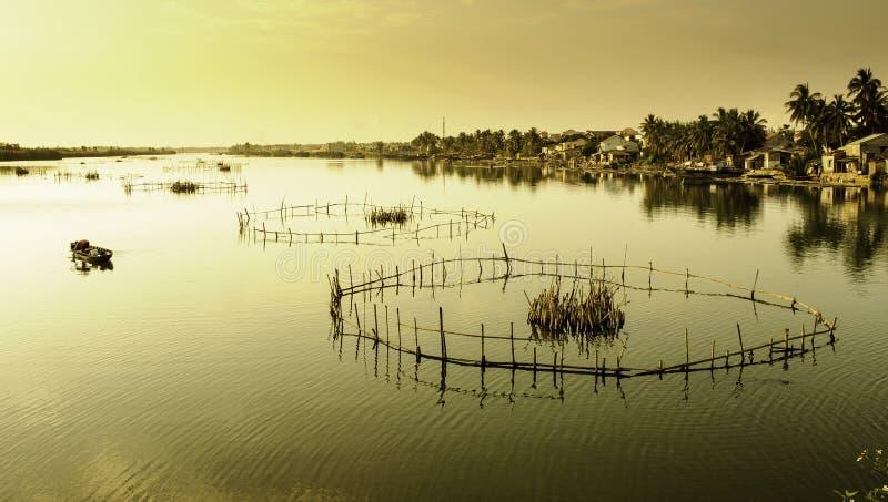 Lacs Hoi-an, Vietnam 10 photographie stock libre de droits