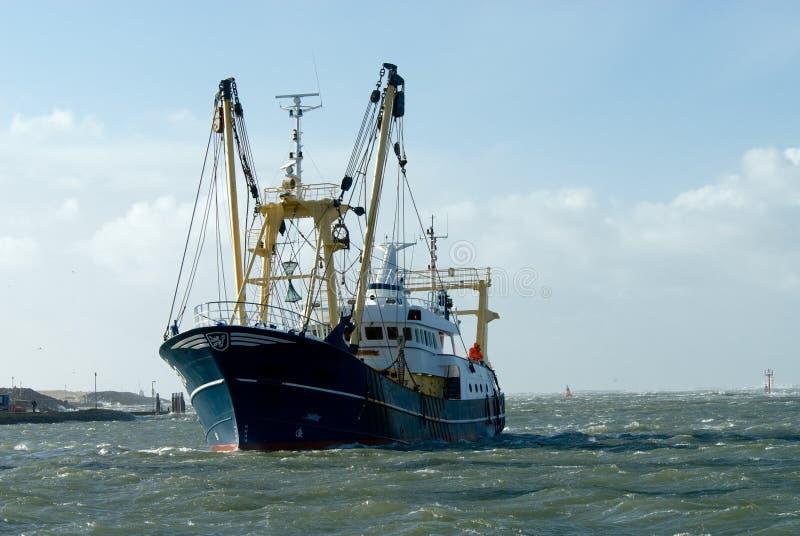Pêche du bateau images libres de droits