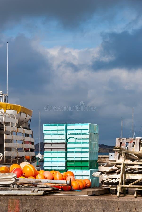 Pêche industrielle photo libre de droits