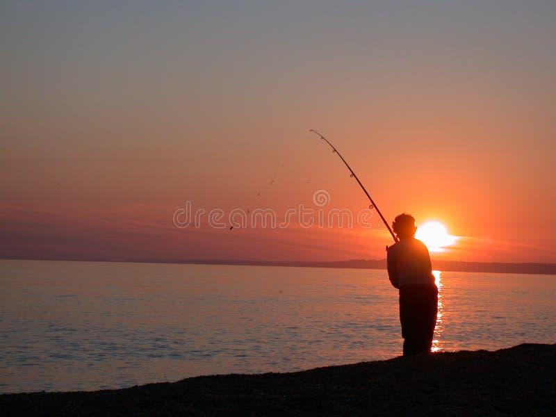 Pêche maritime photo stock