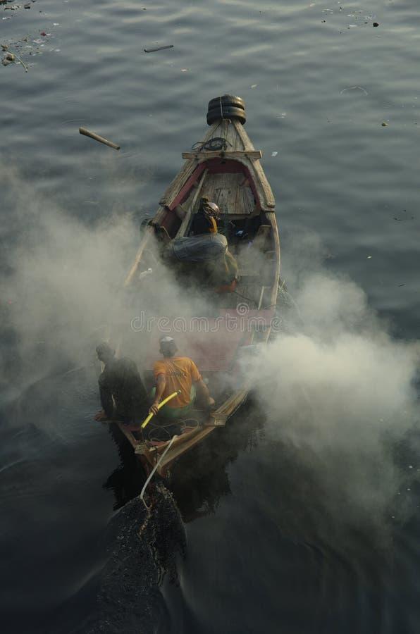 Pêche Prepare photographie stock libre de droits