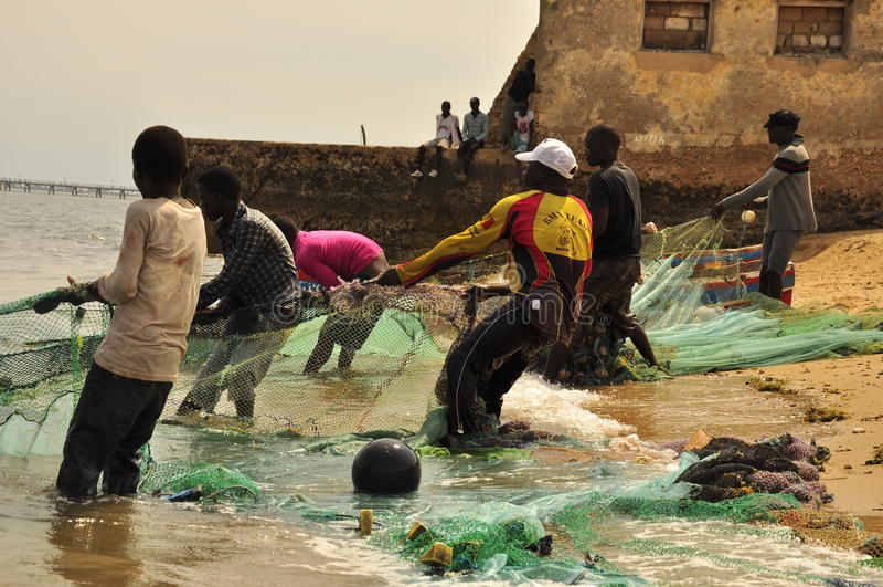 Pêcheur photos libres de droits