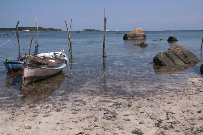 Pêcheur Boat photo stock