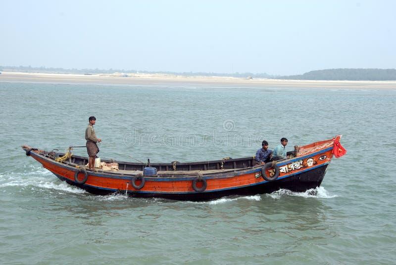 Pêcheur indien images stock