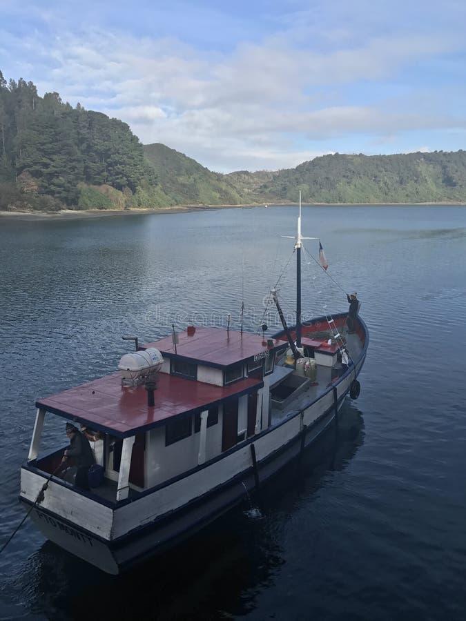 Pêcheur - Puerto Montt, Chili - JPDL photographie stock libre de droits