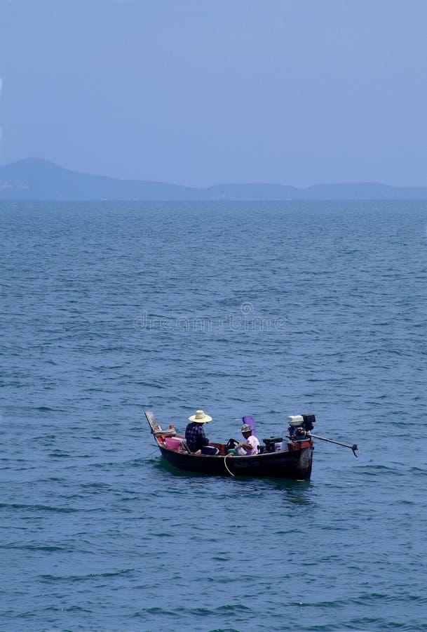 Pêcheurs en Thaïlande photos stock